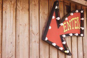 enter arrow