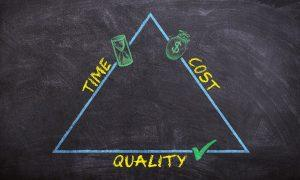 Time, cost, quality triangle