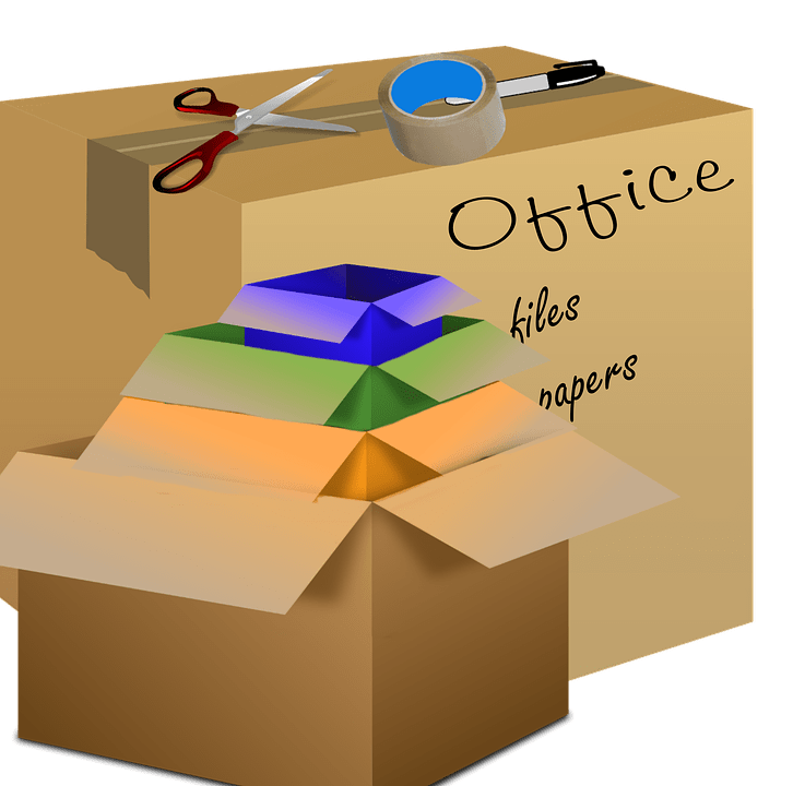 know how to choose the right size of moving boxes