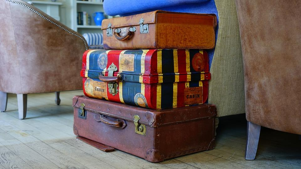 an image of suitcases