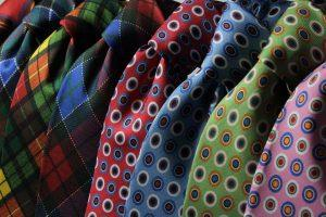A lot of ties, and packing them properly can save space while packing clothes.